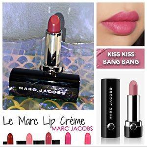 NWOB - MARC JACOBS Le Marc Lip Creme - KISS KISS